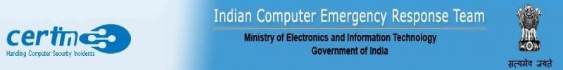 Indian Computer Emergency Response Team (ICERT)