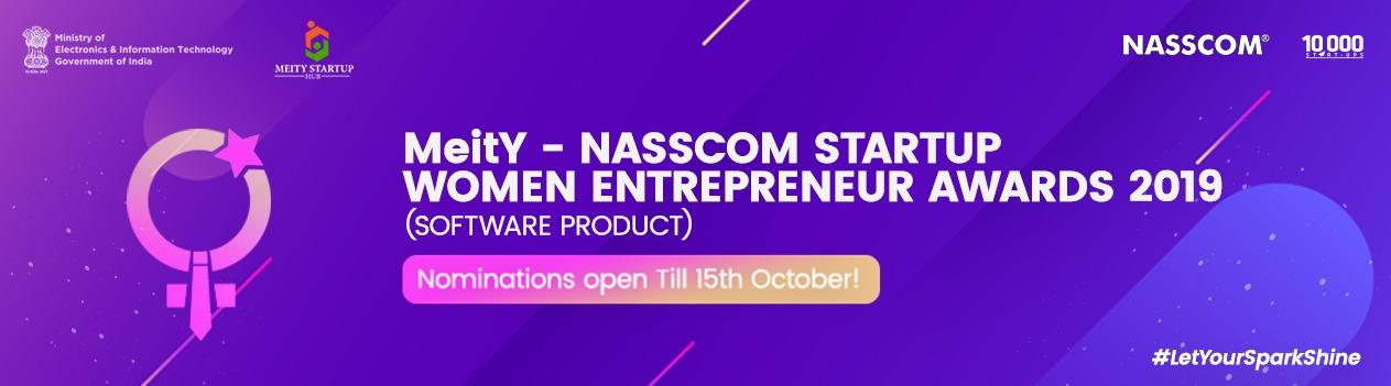 MeitY Startup Women Entrepreneur Award for Innovative Contribution