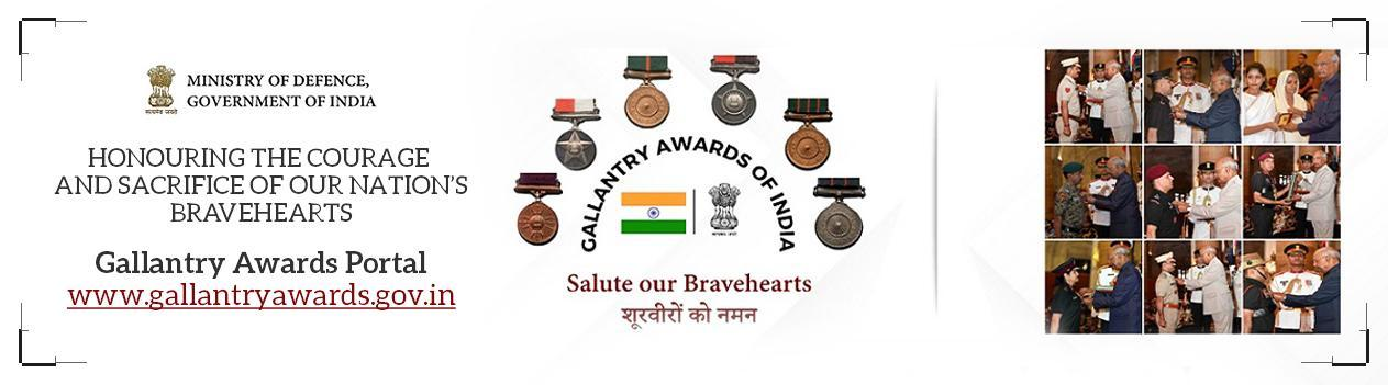 Gallantry Awards - Show your solidarity to the valour and bravery of our soldiers