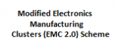 Modified Electronics Manufacturing Clusters (EMC 2.0) Scheme