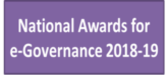 National Awards for e-Governance 2018-19