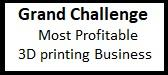 Grand Challenge on Most Profitable 3D printing Business